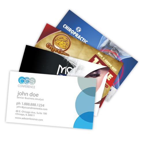 www uprint com templates - standard business cards cheap online printing uprint